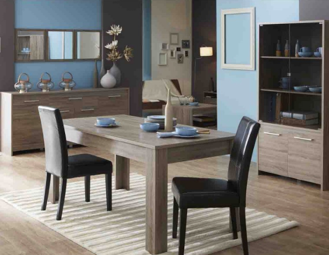 comment am nager et d corer sa salle manger. Black Bedroom Furniture Sets. Home Design Ideas