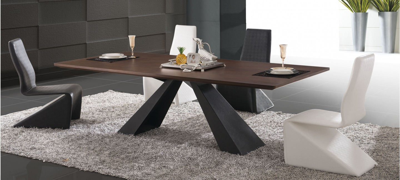 Comment choisir sa table pour un salon design - Table de salle a manger design avec rallonge ...